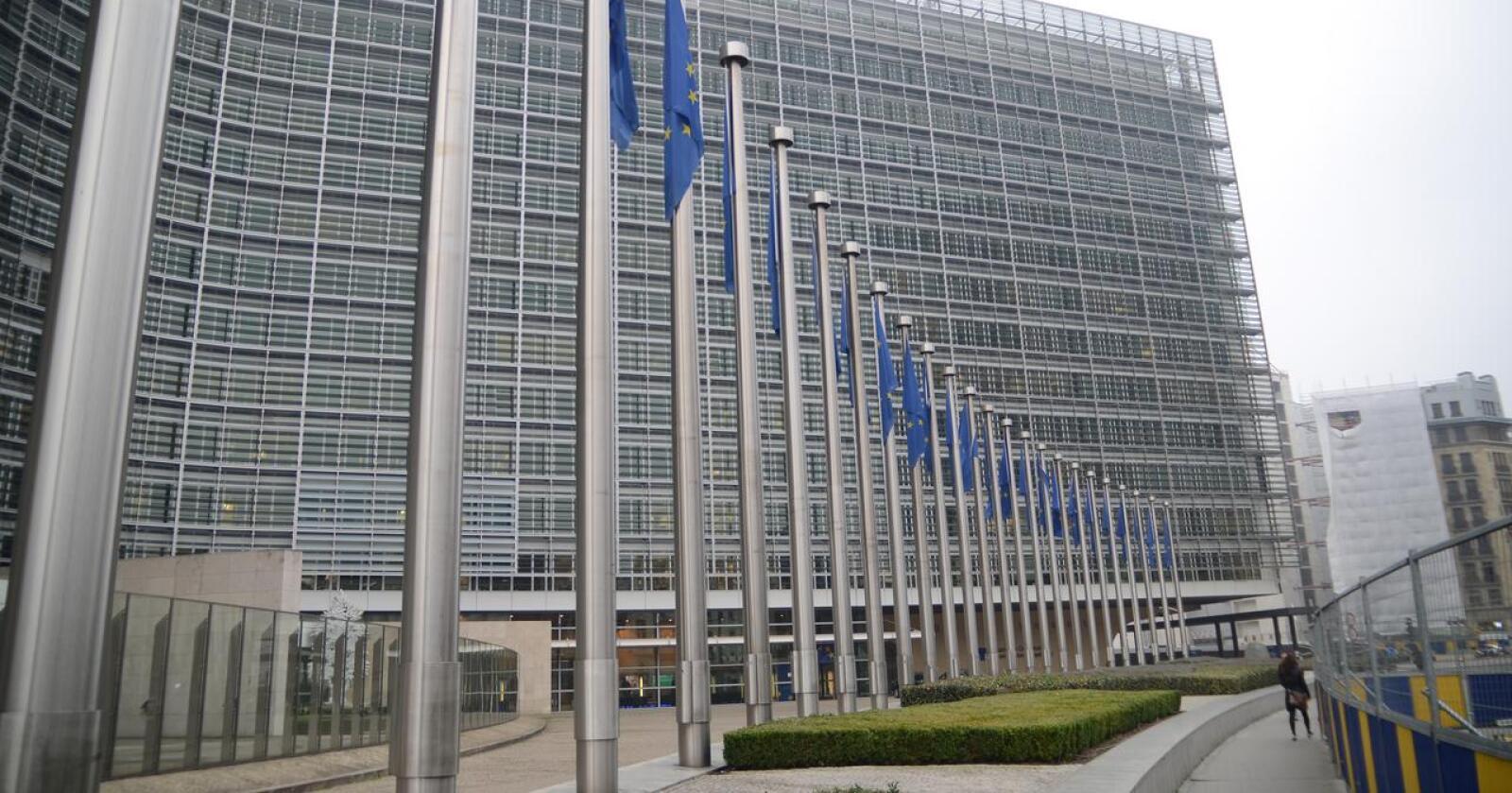 EUs landbruksministre er klare på at EU-landbruket må omstilles i en bærekraftig retning. Her sees EU-kommisjonens bygg. Foto: Linda Sunde