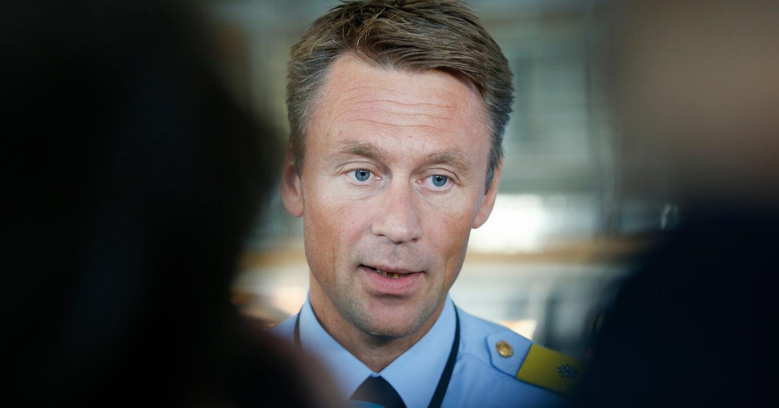 UP-sjef Steven Hasseldal stanser obligatoriske ruskontroller. Foto: Terje Pedersen / NTB scanpix