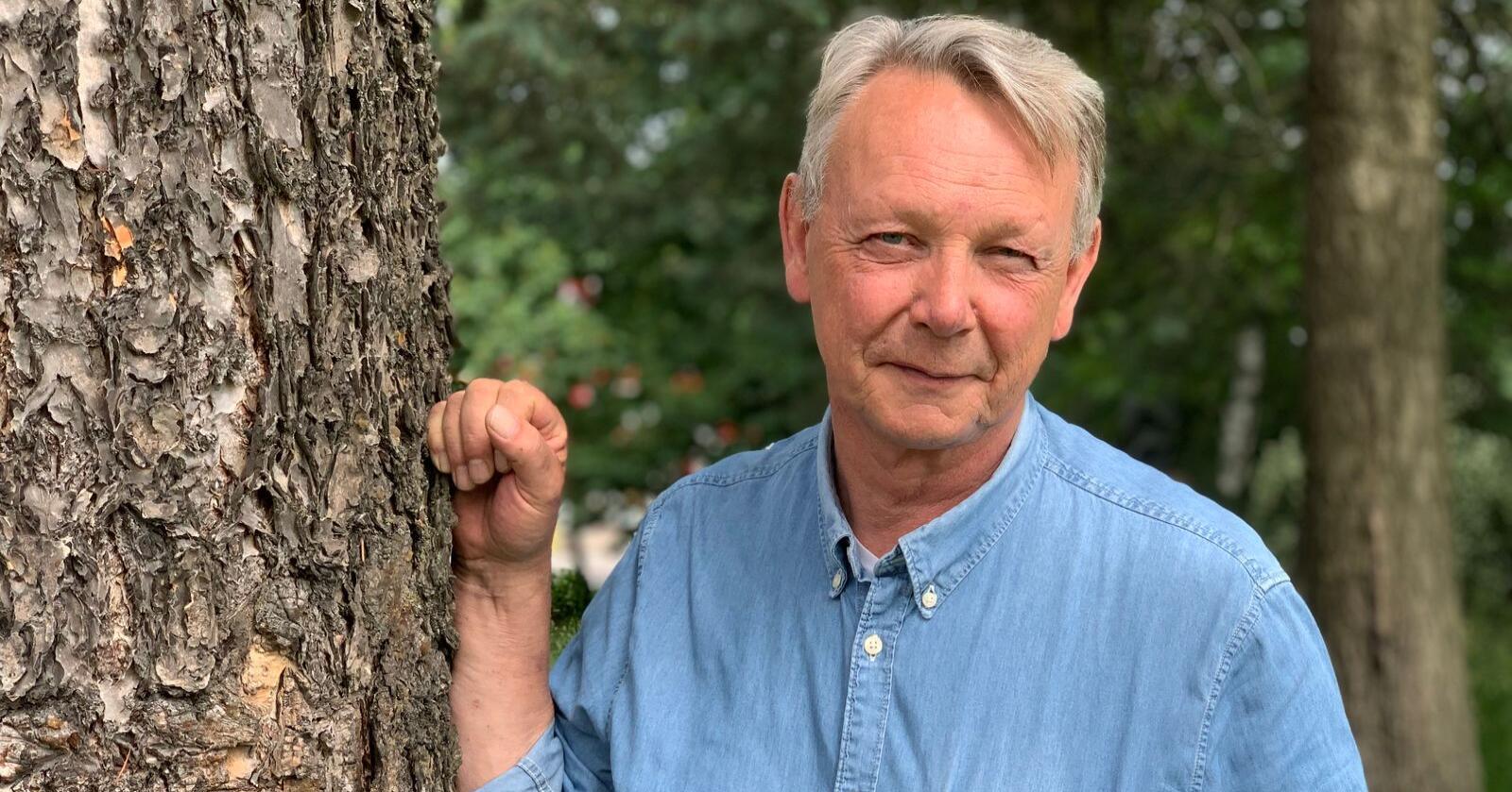 Adm. dir. Arne Rørå i Norskog.