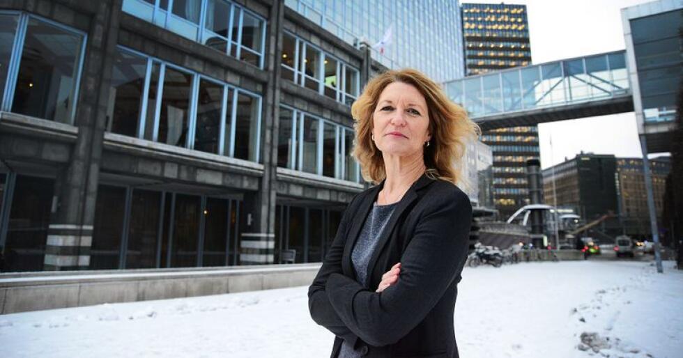 Katrine Røed Meberg, generalsekretær i Norges Gartnerforbund mener utfasing av bruk og uttak av torv er problematisk. Foto: Siri Juell Rasmussen