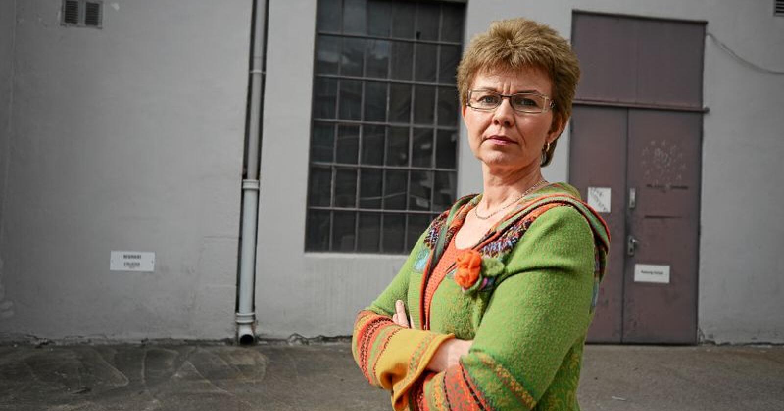 Kathrine Kleveland, leder i Nei til EU er klar for å møte i retten for å føre sak mot Acer-vedtak. Foto: Siri Juell Rasmussen