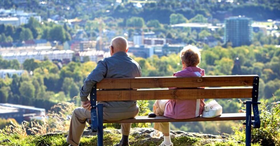 Vi eldre er ikke bare omsorgstrengende, skriver Arne Ellingsberg. Foto: Gorm Kallestad / NTB scanpix