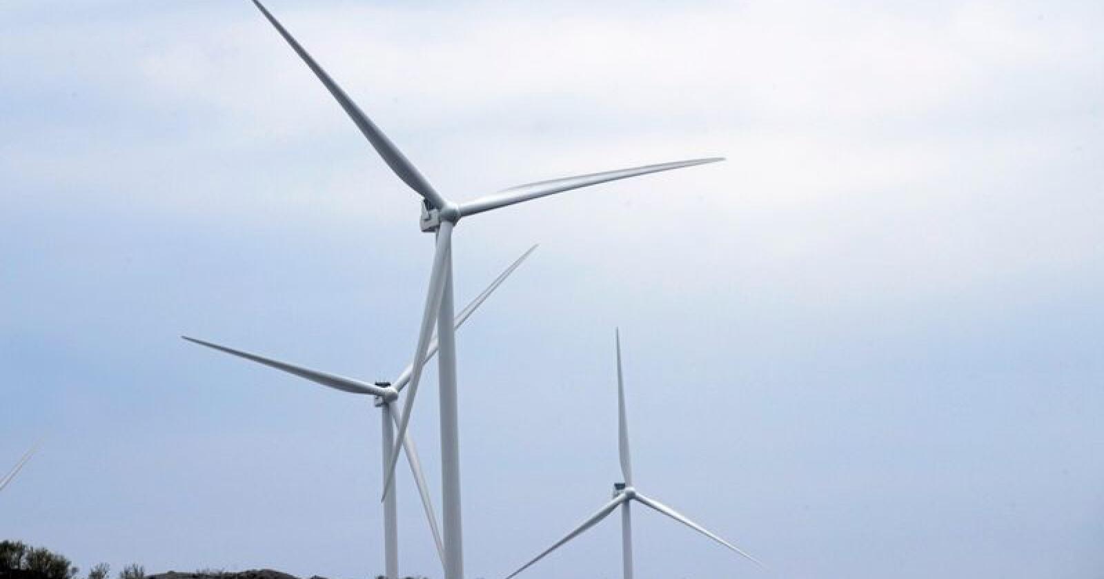 Flest svarer at de er positive til vindmøller i ny undersøkelse, men kun dersom de ikke er synlige i tur- og boligområdet. Foto: Terje Pedersen / NTB scanpix