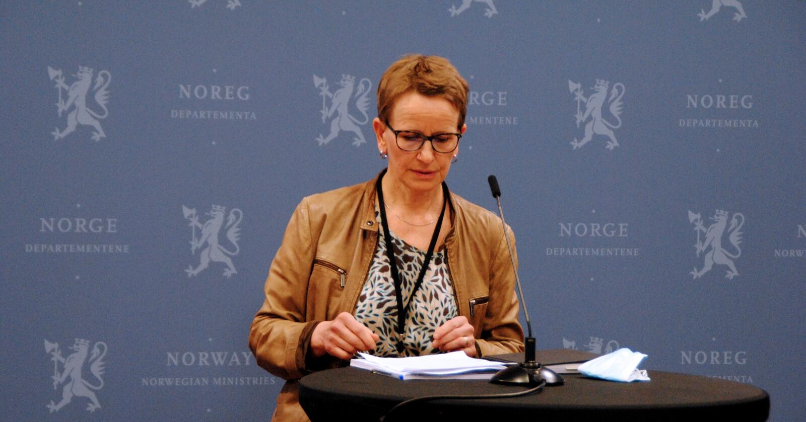Tilbod: Statens forhandlingsleiar Viil Søyland legg tysdag føremiddag fram tilbodet i årets jordbruksoppgjer. Foto: Lars Bilit Hagen
