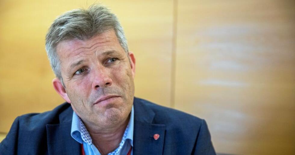 Nestleder i Ap, Bjørnar Skjæran. Foto: Ole Berg-Rusten / NTB Scanpix