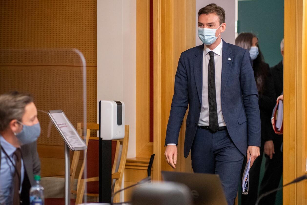 """""""Menn i helse"""" er en vellykket satsing på rekruttering av menn til helsesektoren. Minister for høyere utdanning, Henrik Asheim (H) må sørge for at det kan fortsette. Foto: Heiko Junge / NTB"""