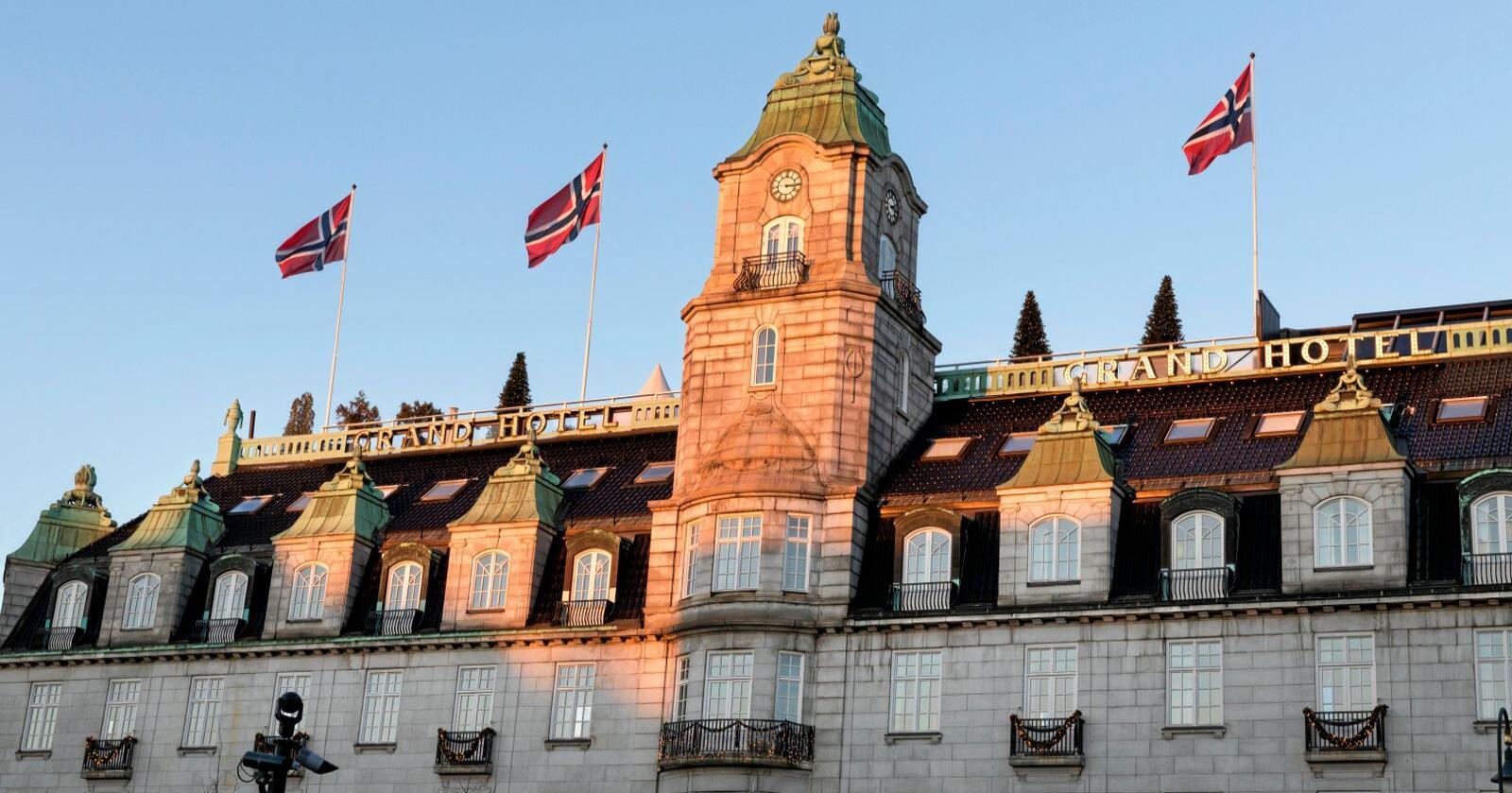 Grand Hotell: Her hadde Rococo-rådmennene hjemme-alene-fest. Foto: Gorm Kallestad / NTB scanpix