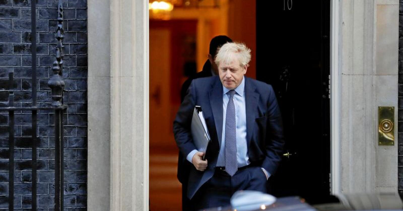 Storbritannias statsminister Boris Johnson. Foto: AP / NTB scanpix