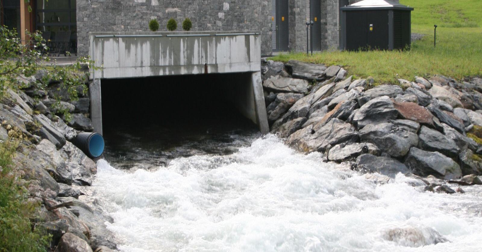 Tryggestad Kraft og Litlebø kraftverk har fått finske eigarar. Foto: Bjarne Bekkeheien Aase