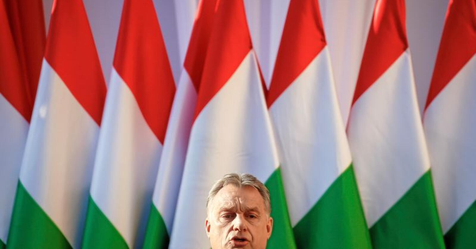 Problem innad i EU: Ungarns statsminister Viktor Orban. Foto: AP Photo/Darko Vojinovic