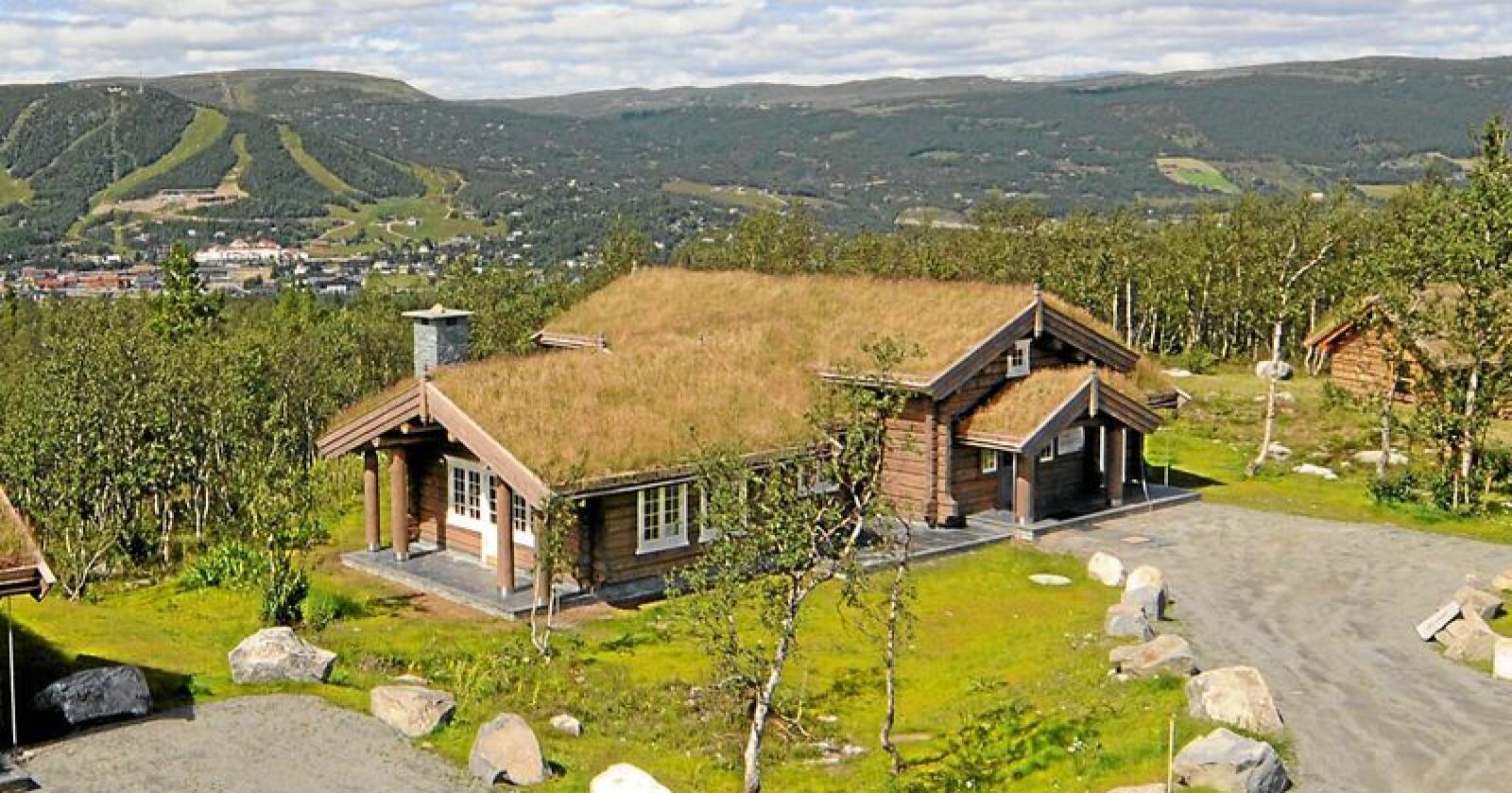 Sentrumsnært: Det er snart slutt på å spre hytter som hagl rundt om i utmarka. Foto: Lars Kristian Steen