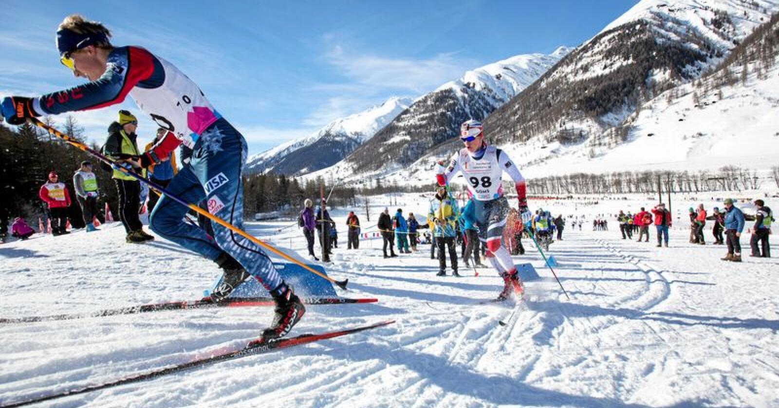Kombinert: Det bør bli mulig å kombinere idrett og yrkesfag. Foto:  Ørjan Ellingvåg/NTB scanpix