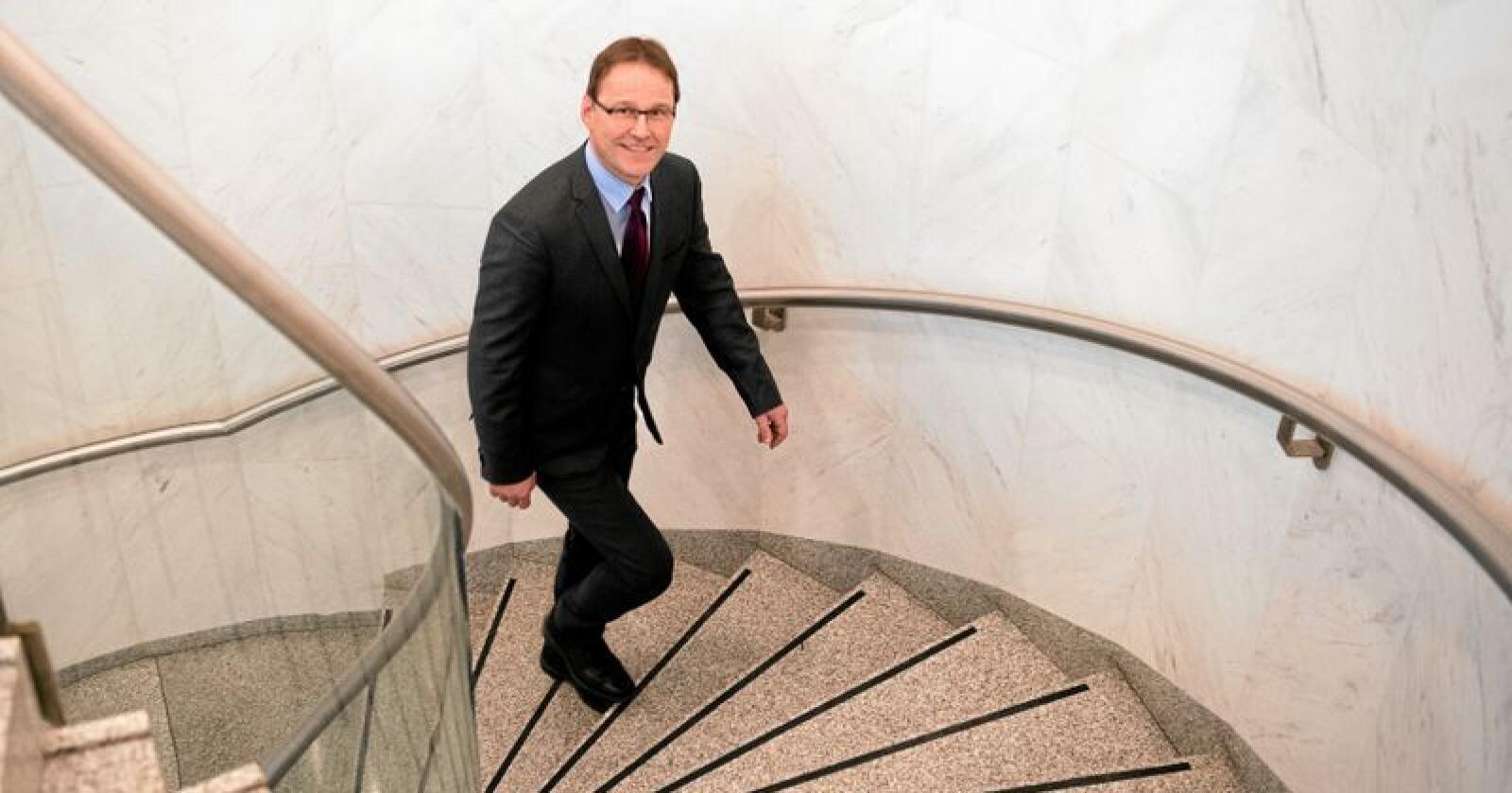 Statssekretær Widar Skogan i Landbruks- og matdepartementet. Foto: Torbjørn Tandberg