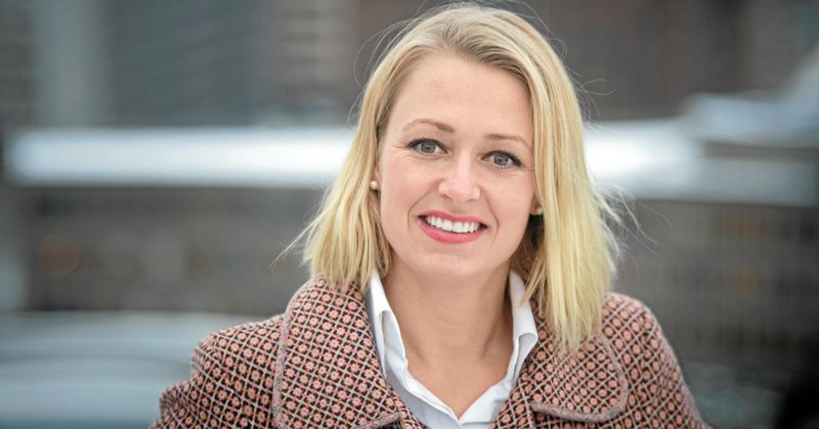 Margrete Dysjaland (Frp) vil ha en hjelpegruppe for bønder. Foto: Landbruks- og matdepartementet