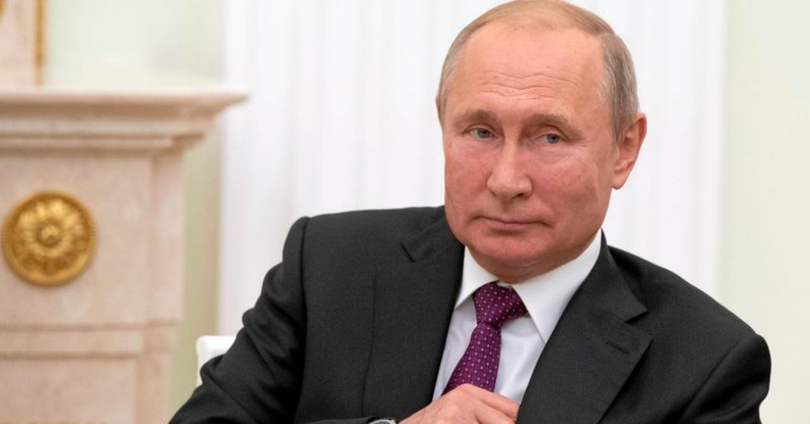 Russlands president Vladimir Putin. Foto: Alexander Zemlianichenko, AP / NTB scanpix