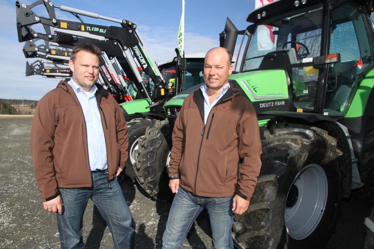 Mer ansvar: Arne Røed (til høyre) returnerer nå til HCP som  salgsansvarlig for Norge. Her sammen med Lars Wear som nylig fikk ansvaret for HCP i norden.