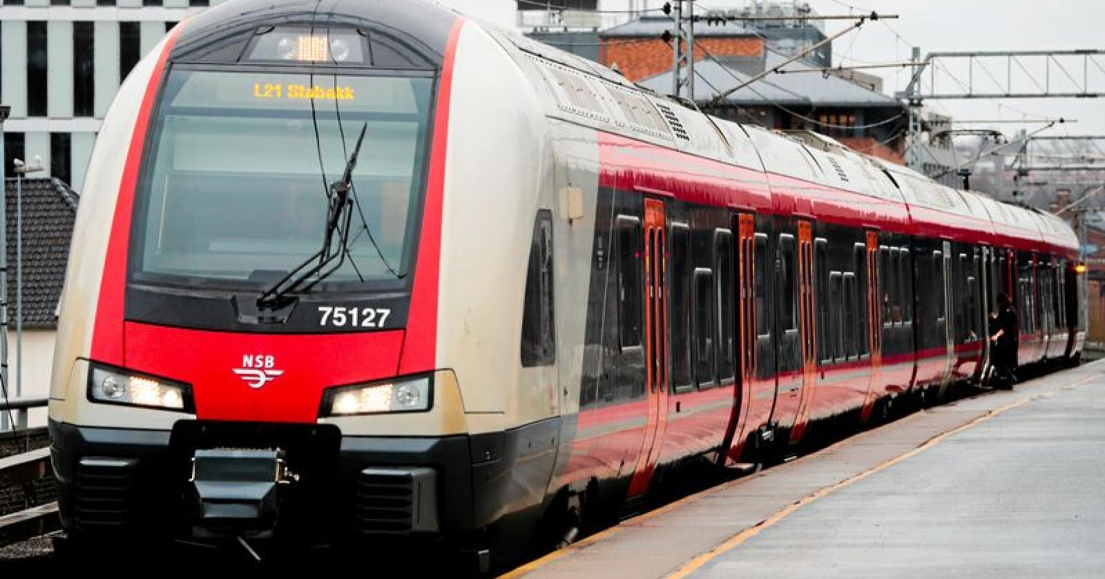 Streik: Norsk Lokomotivmannsforbund og Norsk Jernbaneforbund vil streike mot EUs fjerde jernbanepakke. Foto: Lise Åserud / NTB scanpix