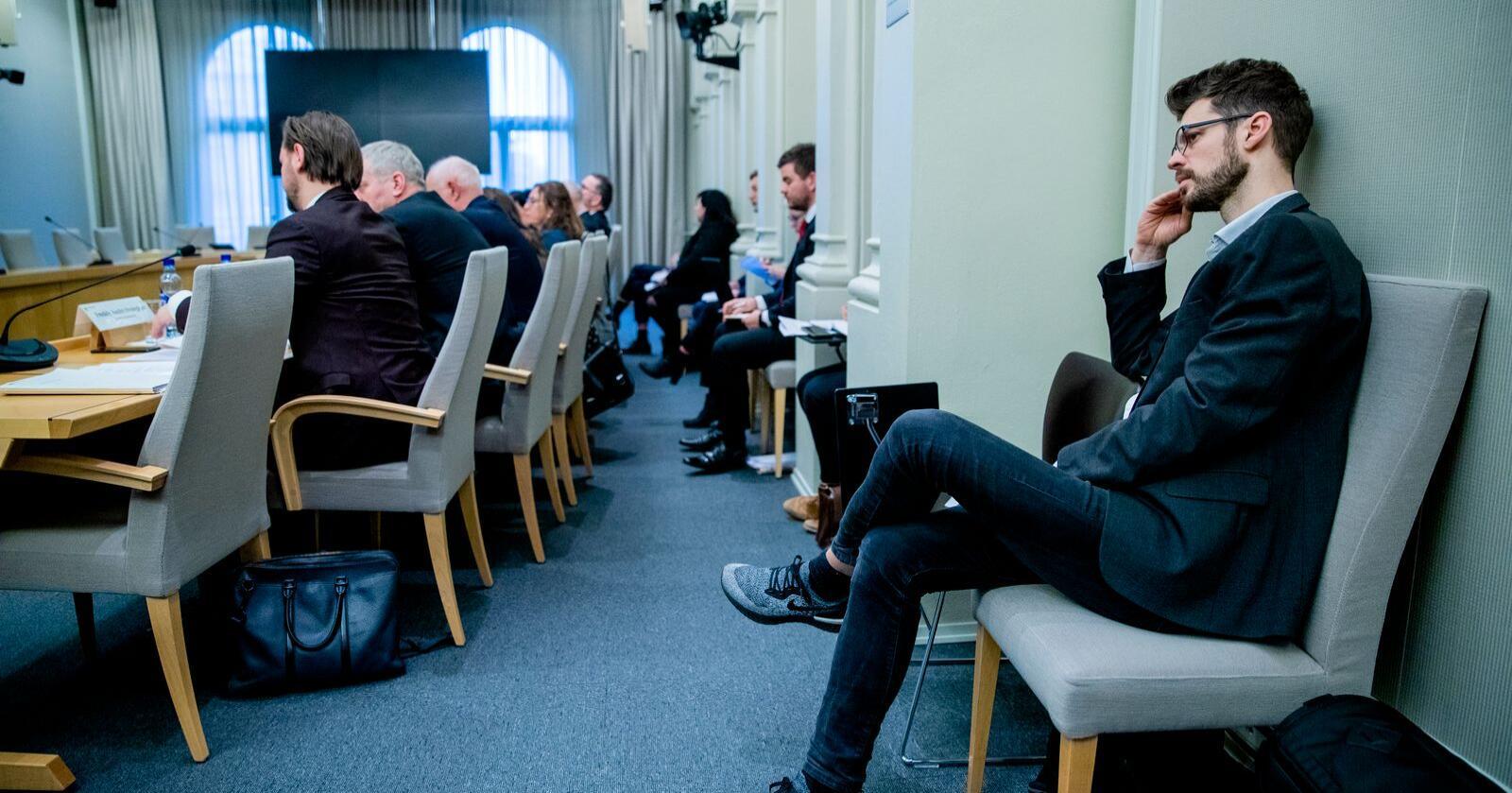 Rødt-leder Bjørnar Moxnes vil avlive NorthConnect-saken en gang for alle. Foto: Stian Lysberg Solum / NTB scanpix