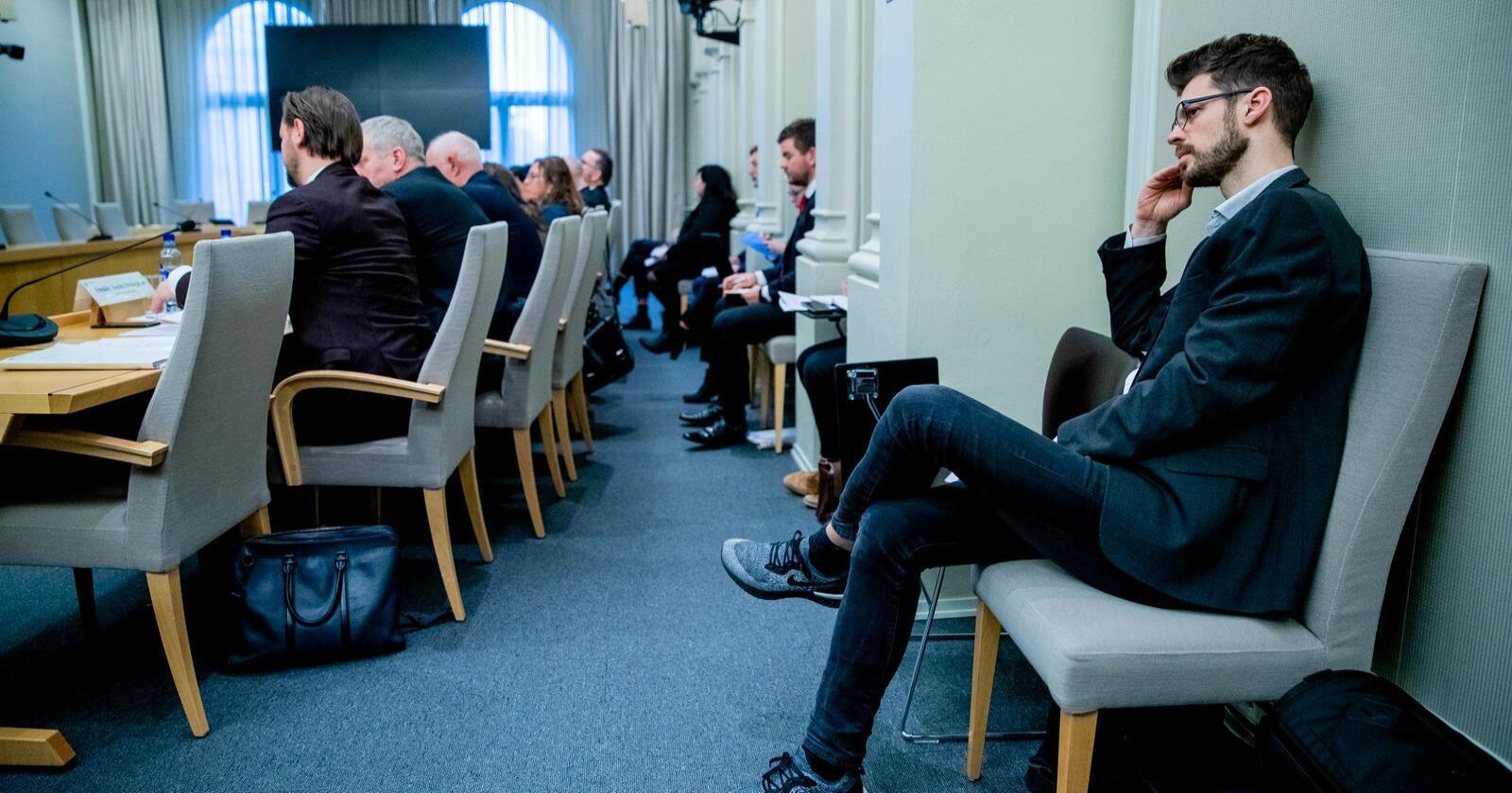 Rødt-leder Bjørnar Moxnes pønsker på en plan for neste stortingsperiode. Foto: Stian Lysberg Solum / NTB scanpix