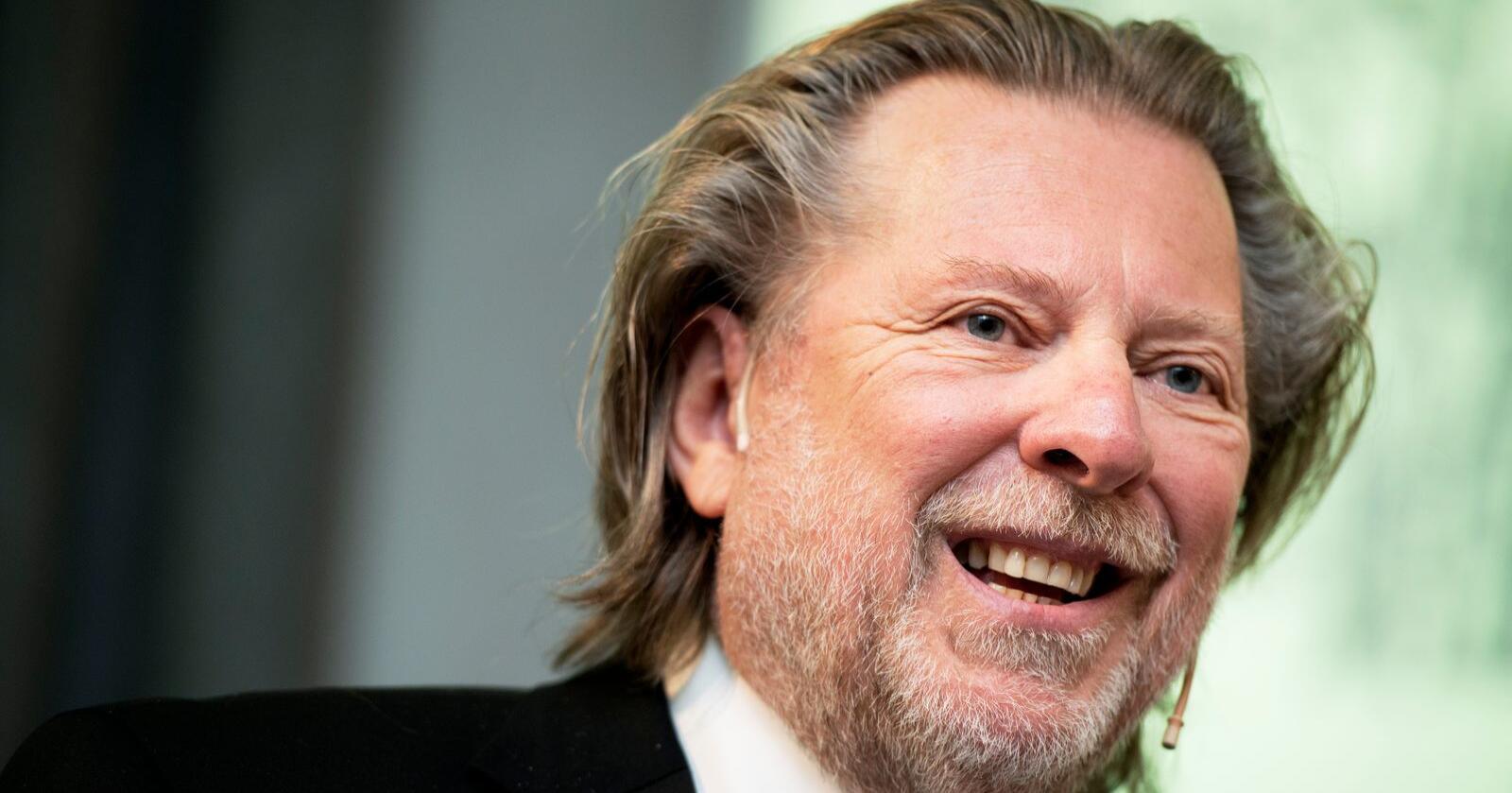 Odd Reitan sier at han nå vurderer å børsnotere Rema 1000. Foto: Ole Martin Wold / NTB