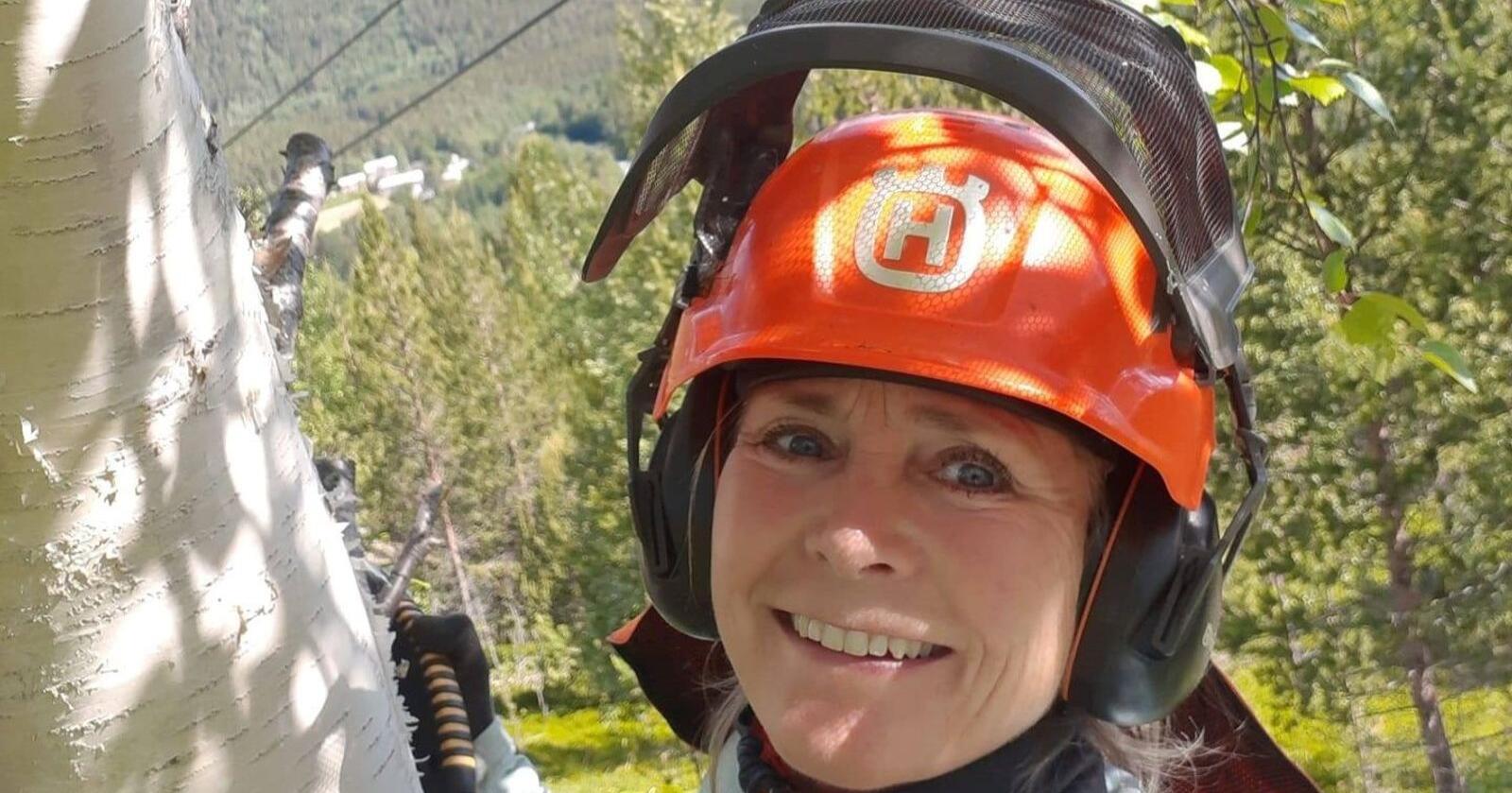 Jorunn Etterlid jobbet tre år som rovviltkontakt i Statens naturoppsyn (SNO) i Saltdal i Nordland. Nå ønsker hun å ta opp ting hun ikke var fornøyd med i jobben. Foto: Privat