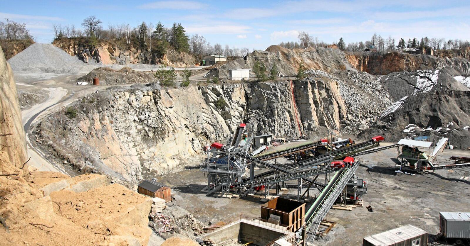 Grunnrik: Norge har store ubrukte mineralressurser. Foto: Colourbox