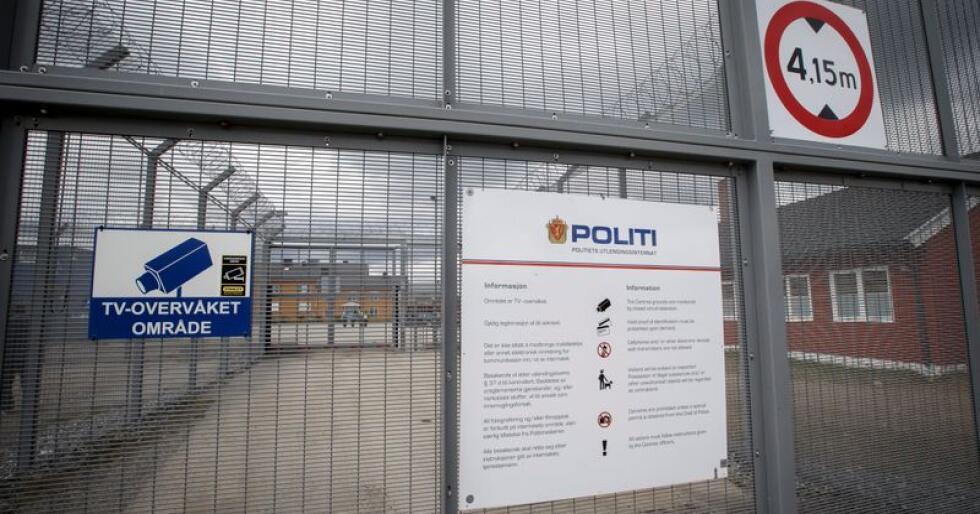 Norge får kritikk for ikke å ha opprettet et uavhengig tilsyn for tvangsreturer av asylsøkere. Her fra politiets utlendingsinternat på Trandum. Foto: Heiko Junge / NTB scanpix