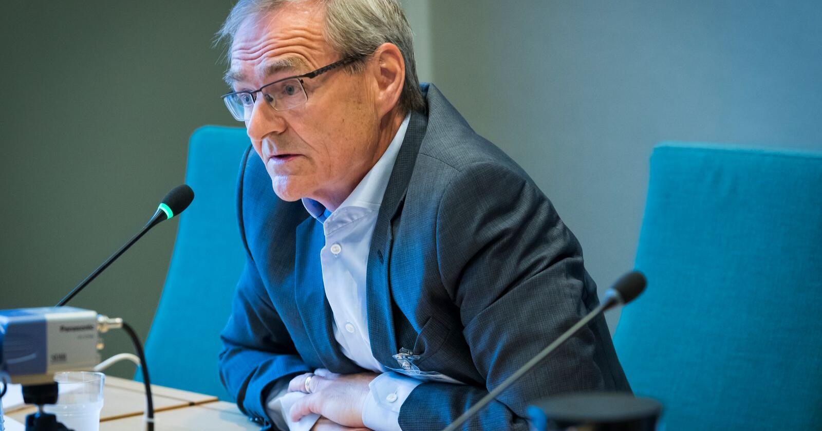 Administrerende direktør Lars Vorland i Helse nord er for forslaget om to sykehus på Helgeland. Arkivfoto: Heiko Junge / NTB scanpix