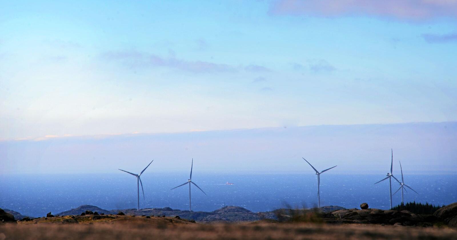 Flere kommuner føler seg nå overkjørt av statlige myndigheter i vindkraftsaker. Foto: Siri Juell Rasmussen