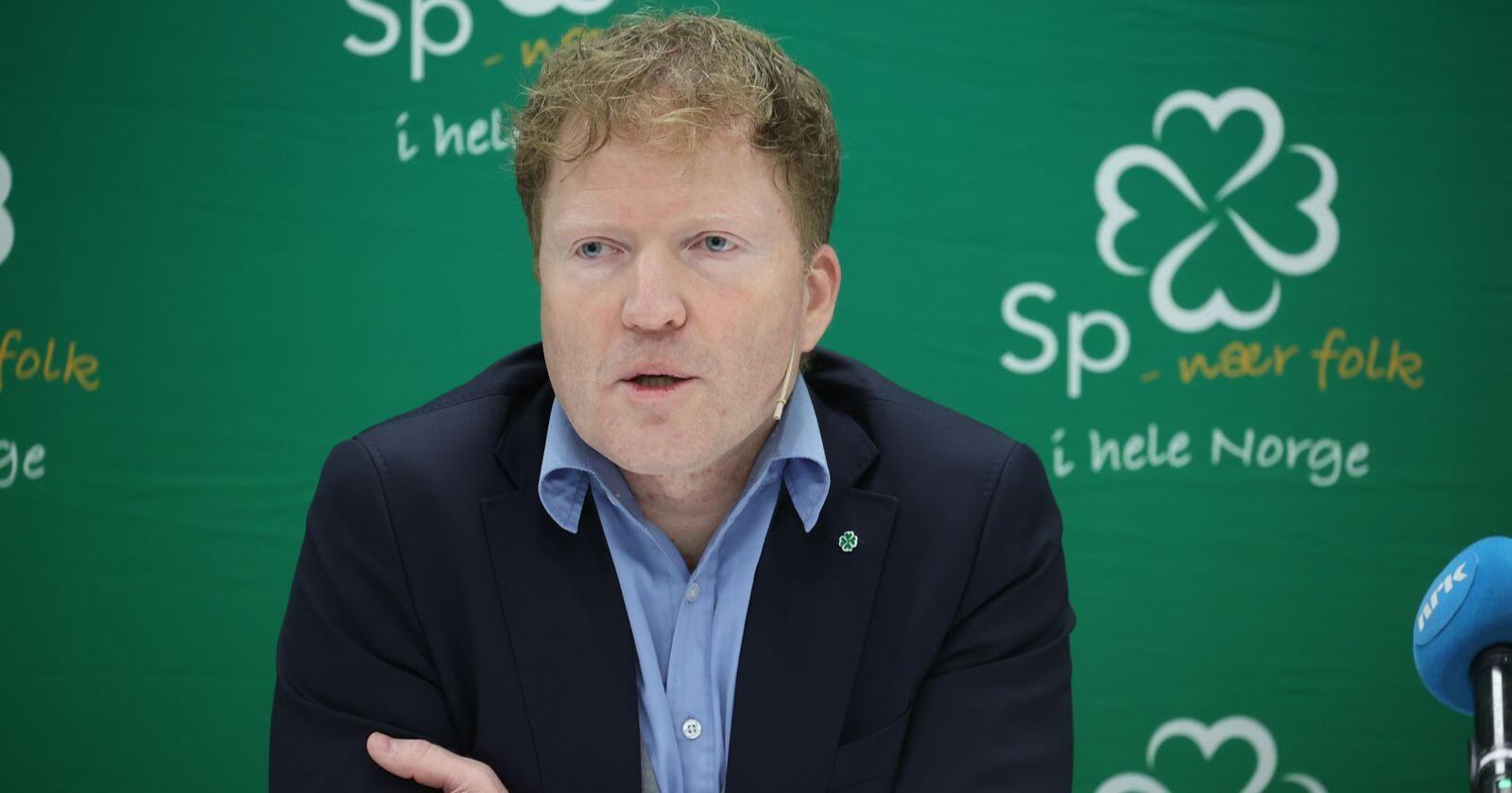 Sigbjørn Gjelsvik topper nok en gang Senterpartiets liste i Akershus ved stortingsvalget neste høst. Foto: Ørn E. Borgen/NTB scanpix