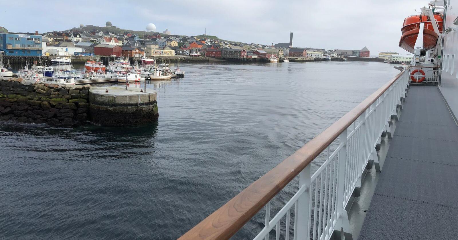 Det er bransjen Hotell/restaurant som har hatt den største økningen i konkurser hittil i år. Troms/Finnmark topper lista med 22,7 prosent økning første halvår 2020, sammenlignet med samme periode i 2019. Bildet er fra Vardø. (Illustrasjonsfoto: Karl Erik Berge)
