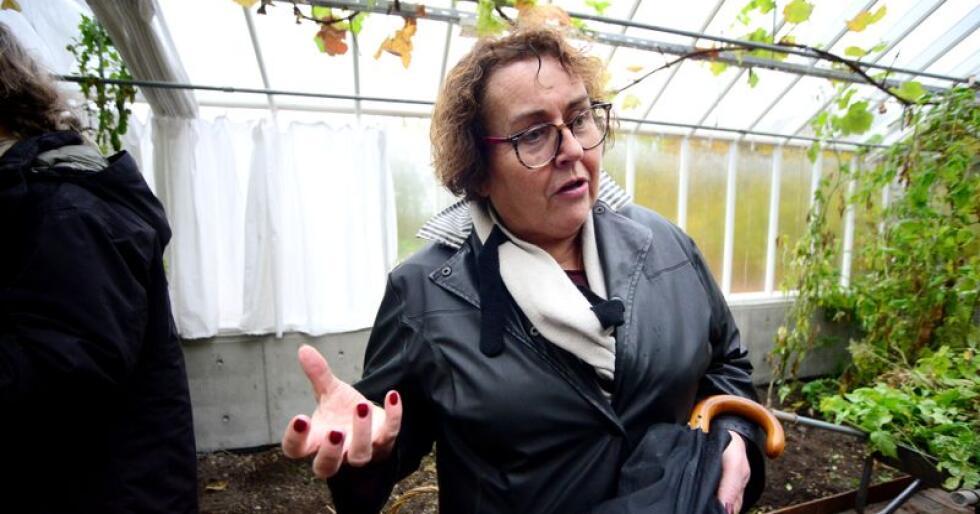 Landbruks- og matminister Olaug Bollestad (KrF) sier gården har vært brukt til andre aktiviteter tidligere, noe som må tas med i beregningen. Foto: Siri Juell Rasmussen