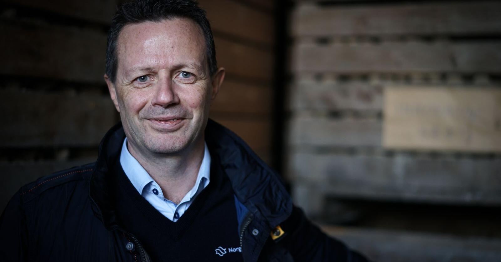 Konsernsjef i NorgesGruppen, Runar Hollevik. Foto: Benjamin Hernes Vogl