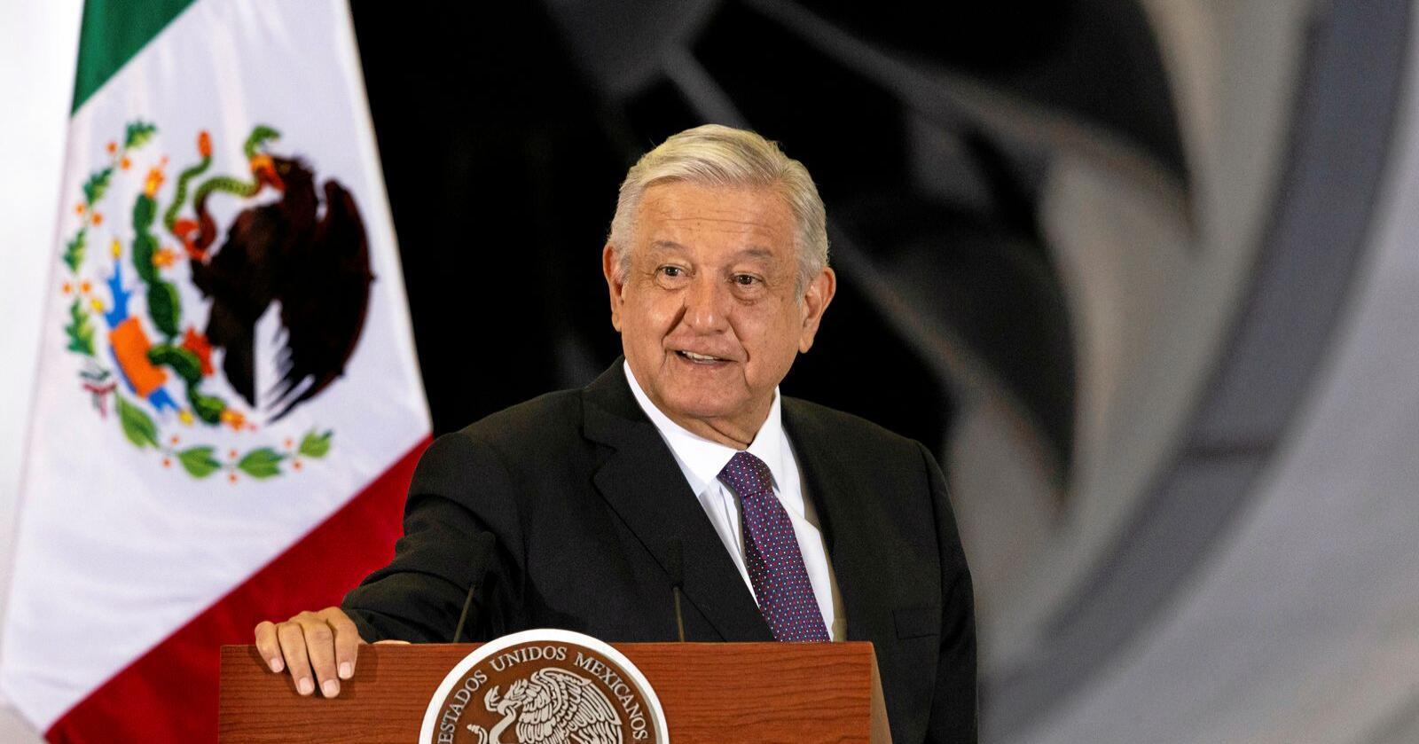 Mexicos president Andres Manuel Lopez Obrador seier landet skal forby glyfosat.