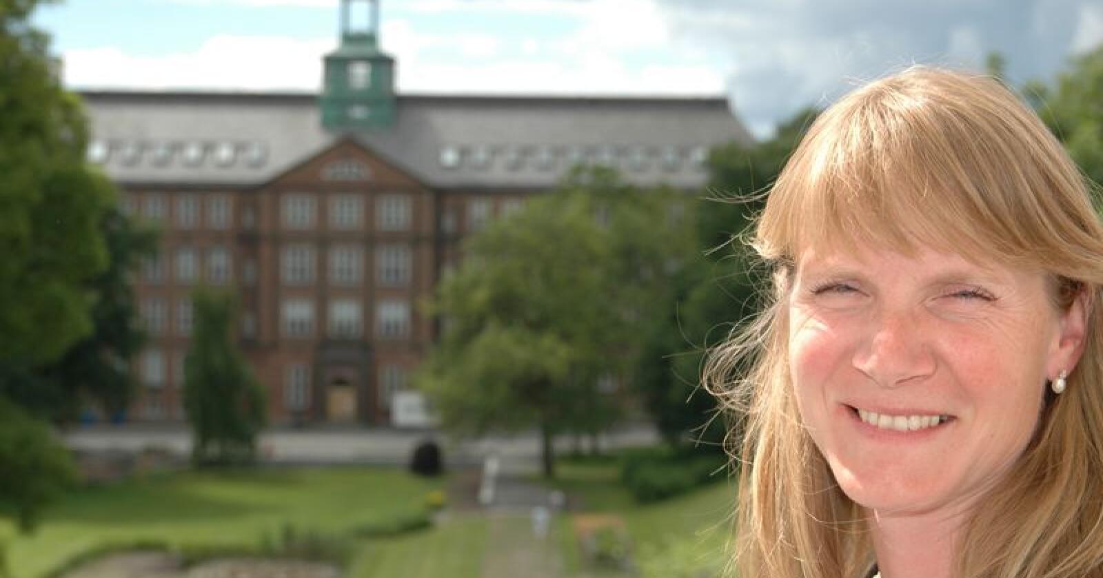 Mari Sundli Tveit har vært rektor ved Norges miljø- og biovitenskapelige universitet (NMBU) fra 1. januar 2014. (Arkivfoto)