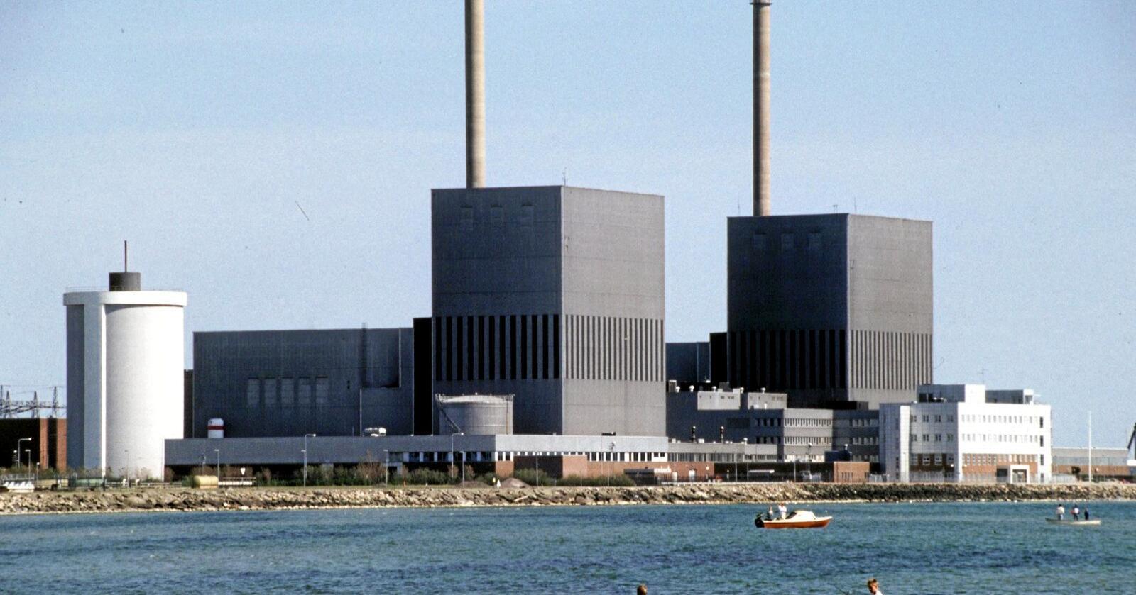 Krever lite areal og ingen vassdrag: Barsebäck atomkraftverk i Sverige. Foto: Janerik Henriksson/Scanpix