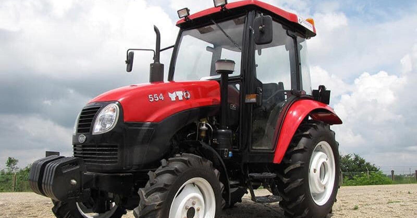 Sandvik Landbruk starter nå import av traktormerket YTO i Norge. Foto: Produsenten