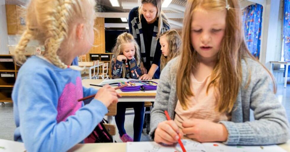 Skole: Etterspørselen etter lærere vil øke i årene som kommer. Foto: Gorm Kallestad / NTB scanpix