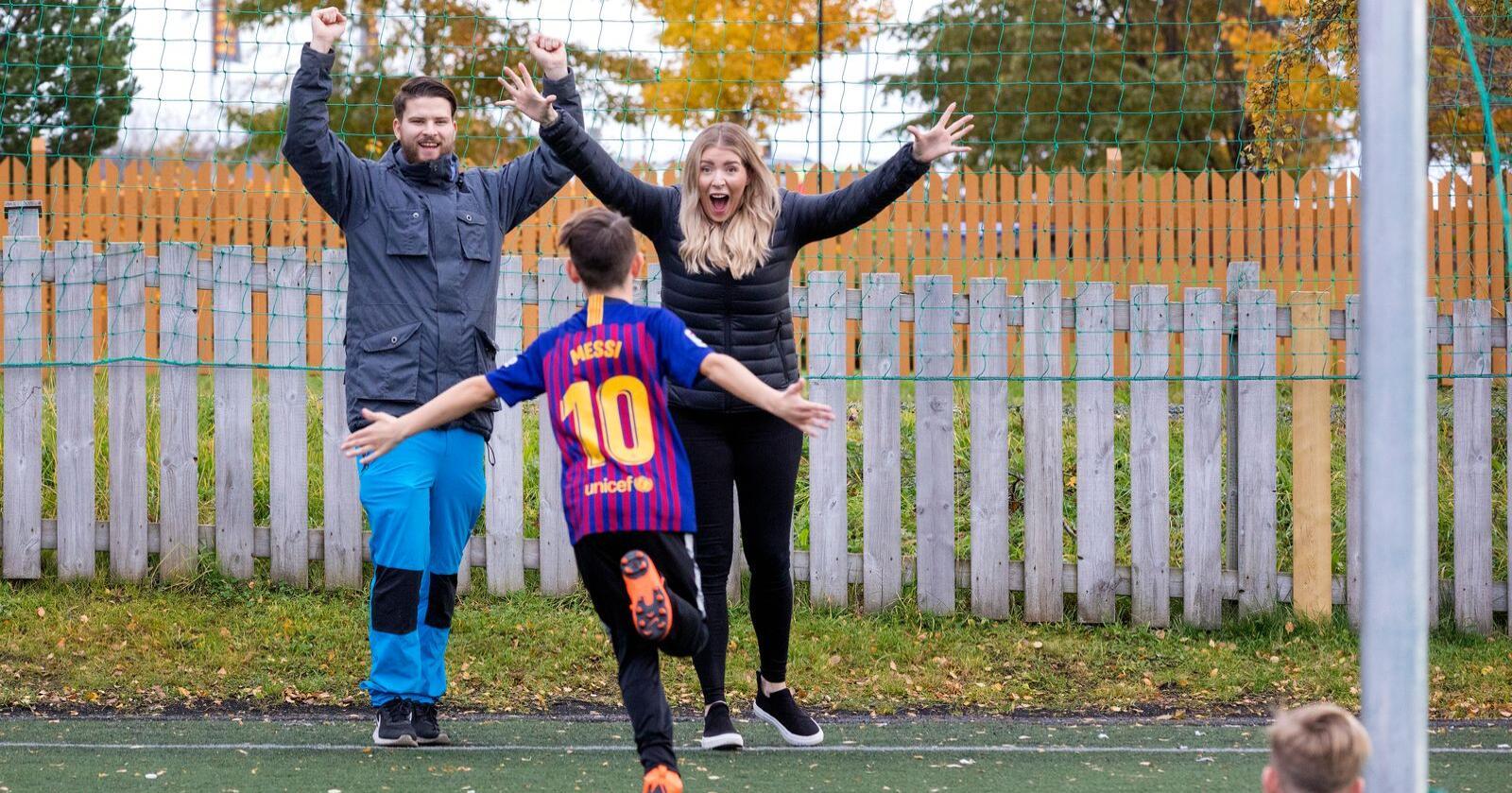 Folk med barn melder om betre psykisk helse enn dei utan barn, viser ei ny undersøking. Illustrasjonsfoto: Gorm Kallestad / NTB