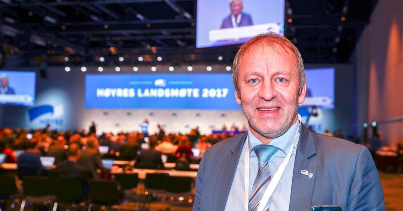 Geir Inge Sivertsen blir ny statssekretær i Næringsdepartementet. Foto: Terje Pedersen / NTB scanpix