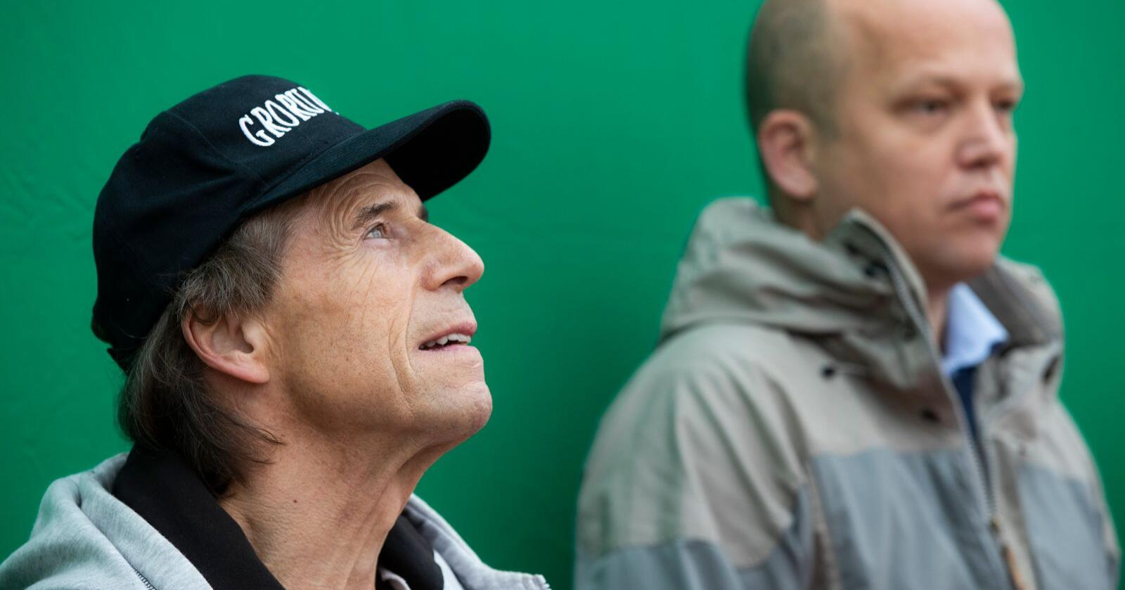 Ap-veteran Jan Bøhlers overgang til Senterpartiet ser ut til å gi Sp-leder Trygve Slagsvold solid drahjelp i Oslo. Foto: Berit Roald / NTB