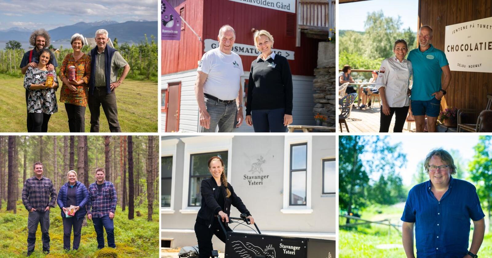 Seks produsenter er igjen i kampen om å vinne årets Matskattstipend fra Meny. Foto: Meny