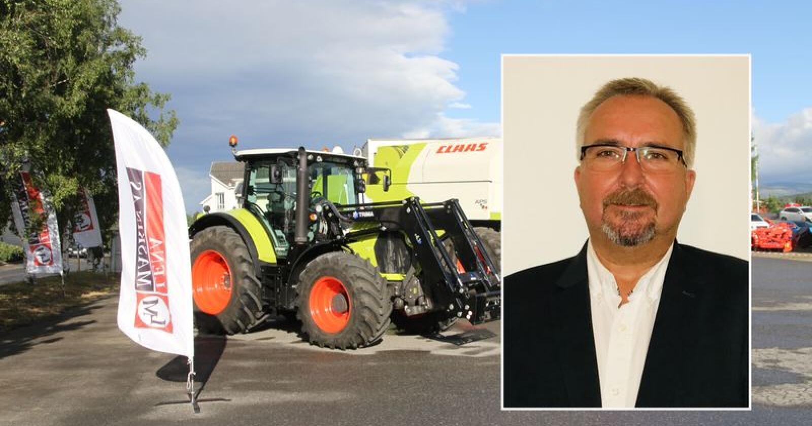 Arne Jørgen Kvarme blir ny regionsjef for Lena Maskin i Trøndelag.