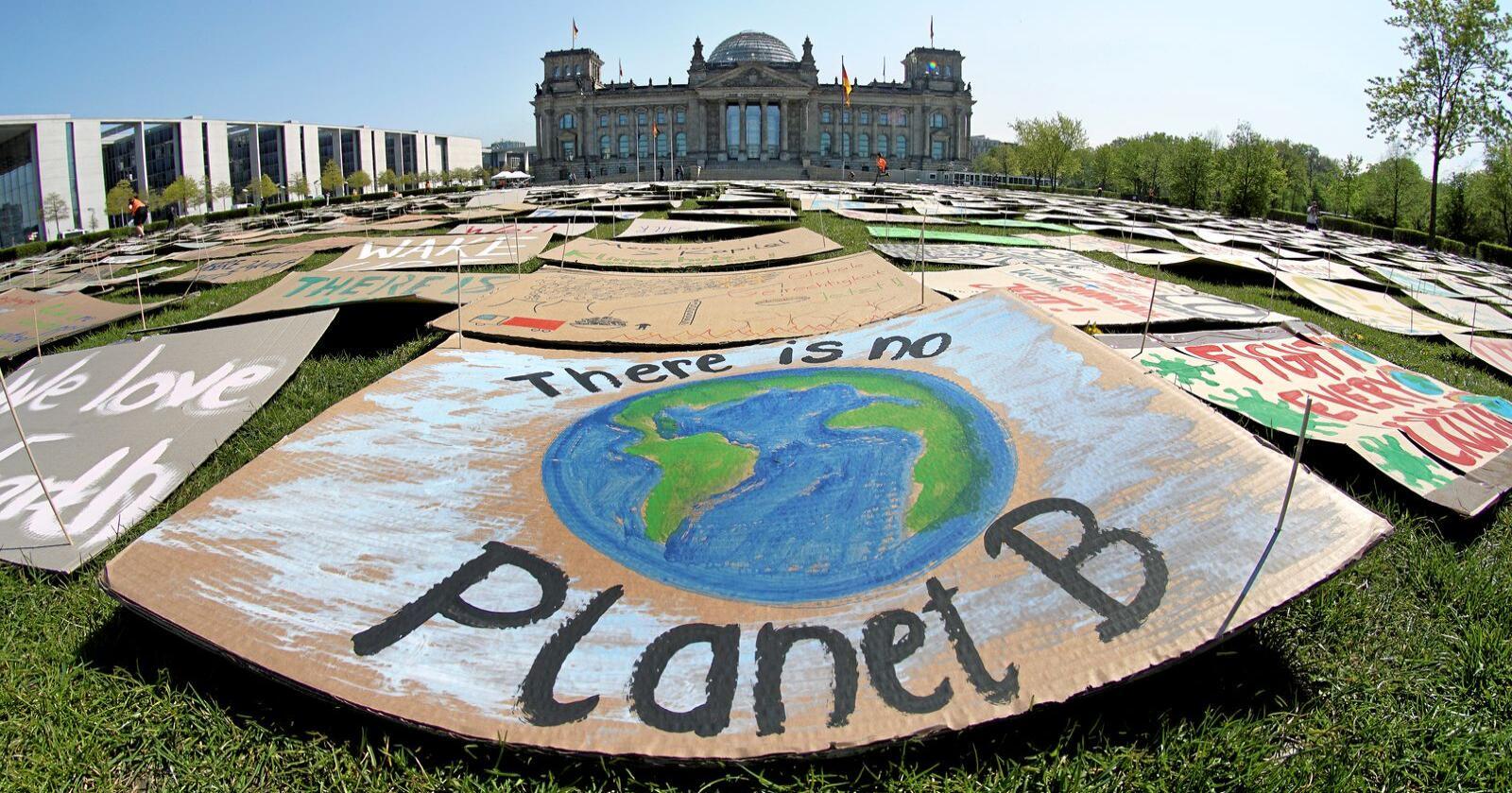 Klima: Selv om EU viser globalt klimalederskap, gjør heller ikke EU nok. Foto: Michael Sohn AP/File/NTB