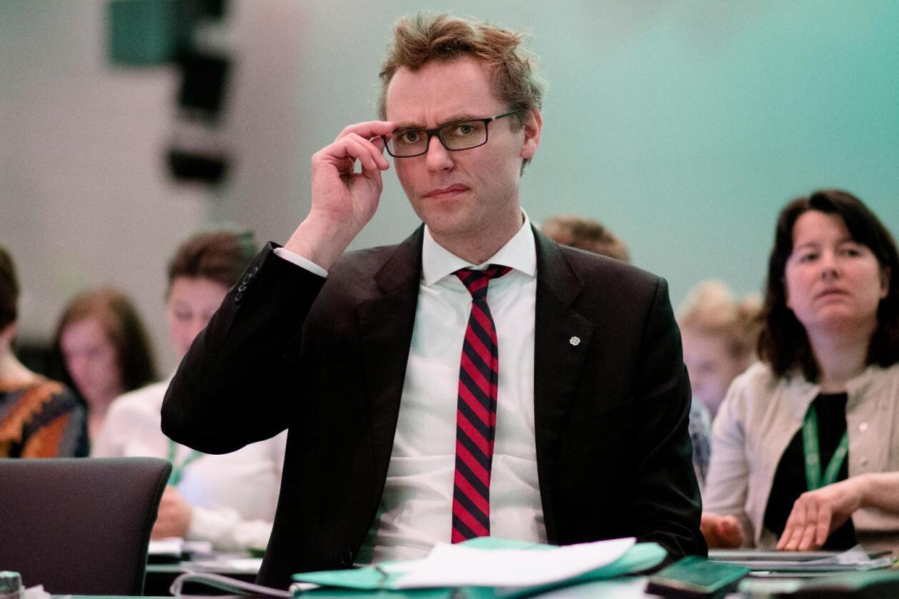 Tilbake: Ola Borten Moe gjeninntrer som nestleder i Senterpartiet. Foto: Ole Martin Wold/NTB scanpix