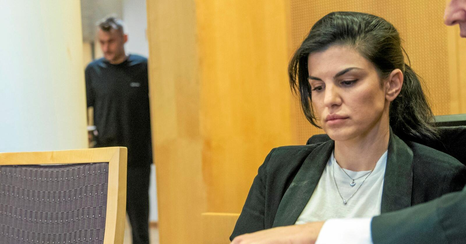 Aylar Lie møtte ekskjæresten Petter Northug i retten tidligere i år. Foto: Terje Pedersen / NTB scanpix