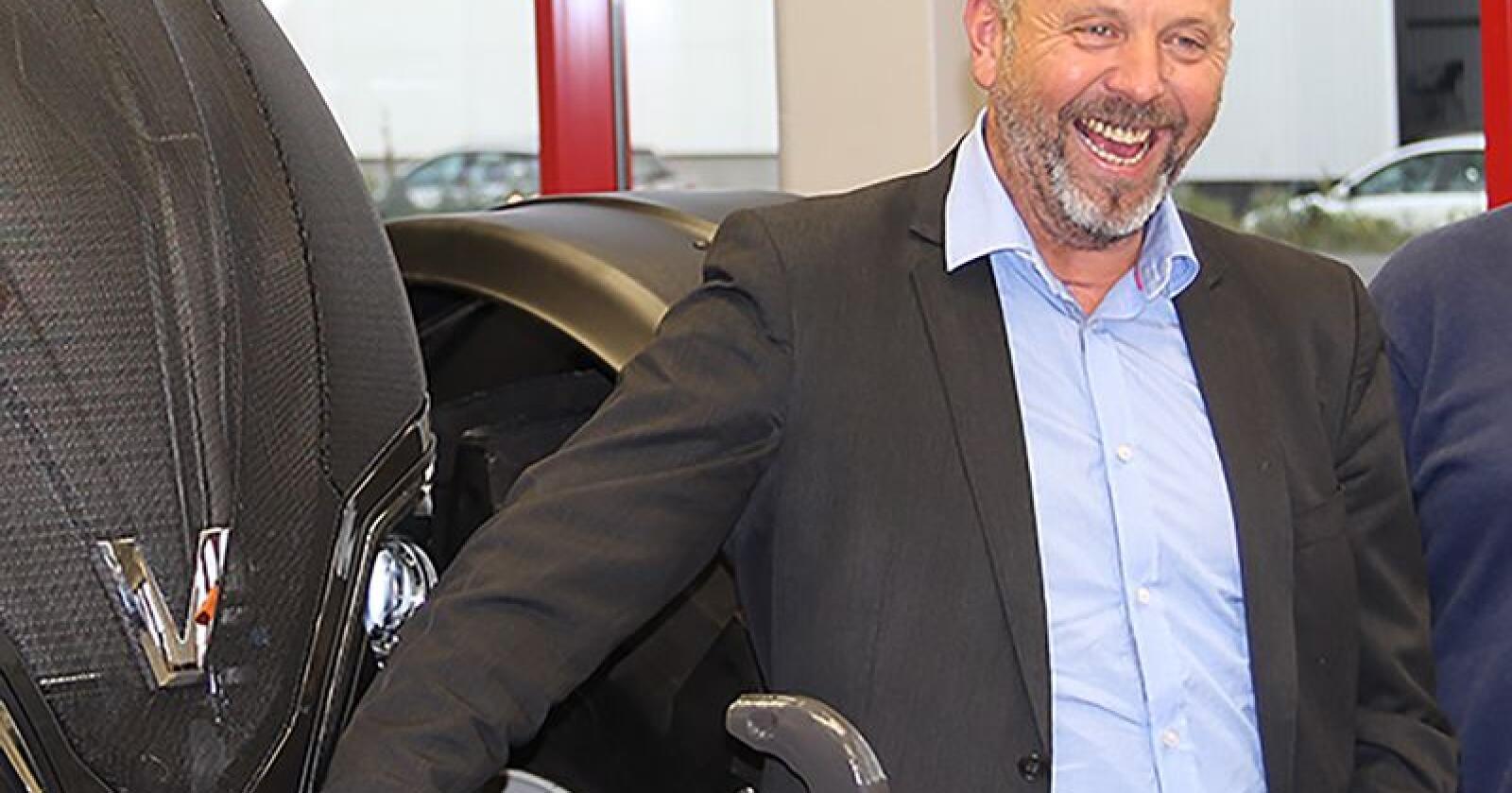BRI Agri og Bjørn Rygg overtar importen og distribusjonen av Kuhn sine produkter til Norge. Arkivfoto