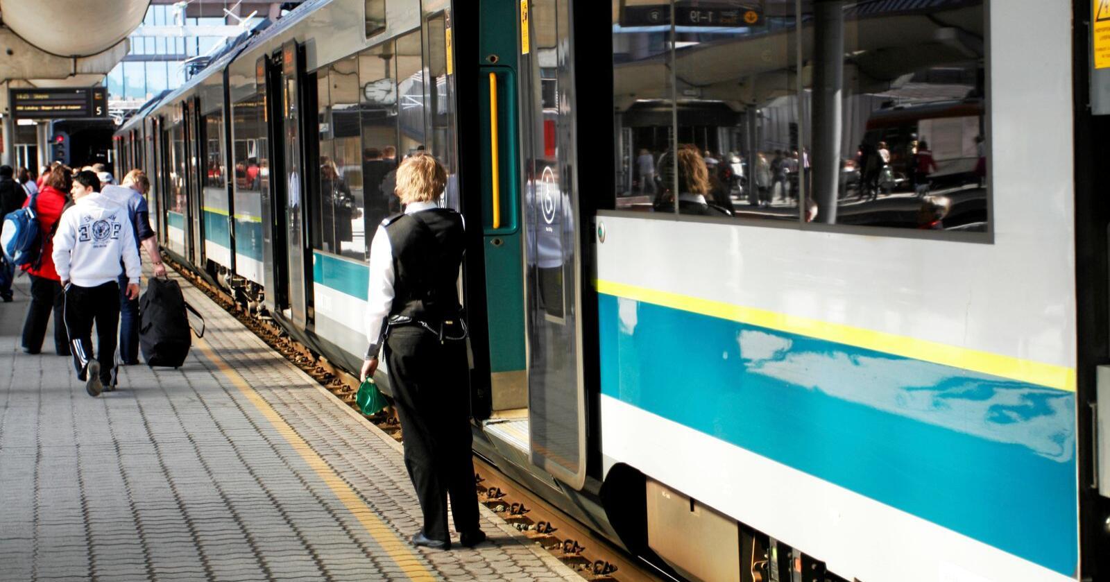 Løft: Høyhastighetsbaner vil løfte både byer og distrikter, skriver kronikkforfatterne. Foto: Mostphotos