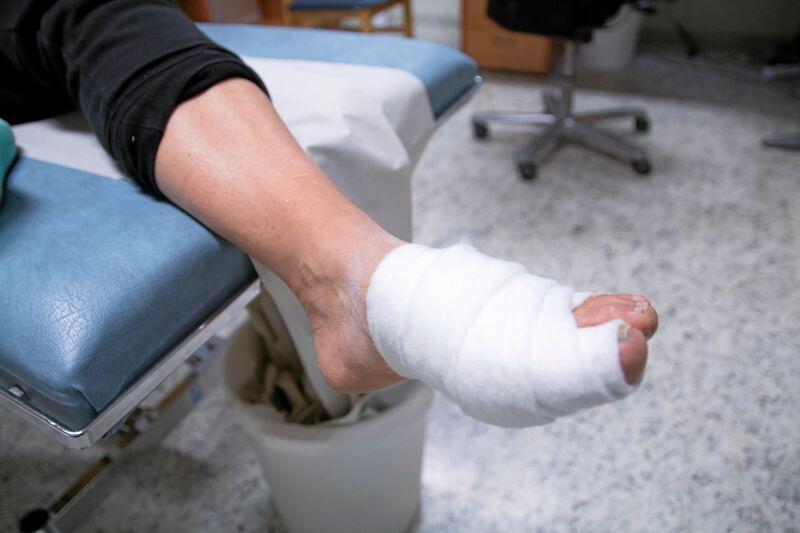 pasient legevakt skade