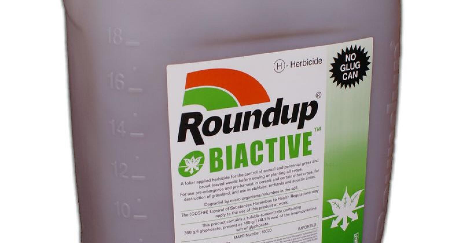 Dom: Det er ingen rimelig tvil om at glyfosat, den aktive substansen i ugressmiddelet Roundup, var en medvirkende årsak til kreften, kom juryen i San Francisco til.